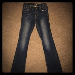 Girls Cat and Jack bootcut jeans size 10